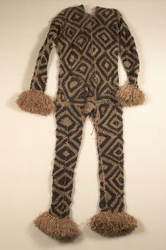 Body suit from the Pende people of Kipita Region, Congo | Raffia | 20th century