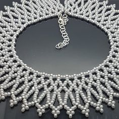 Key Necklace / Diamond Key Pendant / Diamond Necklace / Dainty Key Charm Necklace / Gold Key Necklace / Diamond Key Charm / Gift for her Item Details Seed Bead Necklace, Drop Necklace, Collar Necklace, Beaded Necklace, Beaded Bracelets, Choker Necklaces, Seed Beads, Collar Diy, Beaded Collar