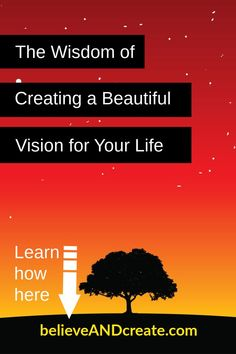 How to Create a Vision for Your Life that Leads to More Happiness and Fulfillment Self Development, Personal Development, Michael Beckwith, Life Advice, Life Tips, Transform Your Life, Love Your Life, Finding Peace, Stress Management