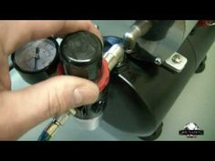 Airbrush Setup, briefly explained. You'd be surprised how hard it is to figure out how to airbrush without instructions.