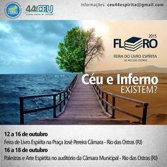 44o.CEU Convida para FLORA 2015  - Feira do Livro Espírita de Rio das Ostras - RJ - http://www.agendaespiritabrasil.com.br/2015/10/05/44o-ceu-convida-para-flora-2015-feira-do-livro-espirita-de-rio-das-ostras-rj/