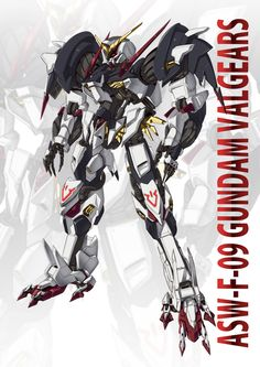 GUNDAM GUY: Gundam Digital Artwork: Gundam Iron-Blooded Orphans [Updated 2/10/16]