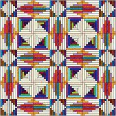 log cabin quilt patterns | Log Cabin variations - Blogs - Quilting Board