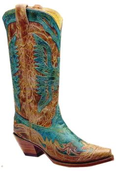 OK these are it if I can afford them :) Ladies Turquoise/Antique Saddle Eagle Snip Toe R2265