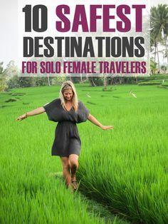 10 Safest Destinations for Solo Female Travelers