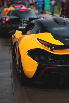 McLaren P1 (and Pagani)
