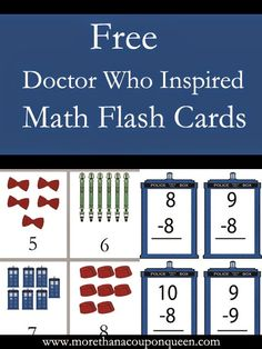 Are your children having a hard time with their Math facts or number recognition? Meagan over at More Than a Coupon Queen has put together a great set of Do