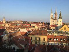 **Upper Town (Gornji Grad) (great view) - Zagreb, Croatia