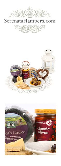 """""""Scrumptious Snacks"""" hamper, currently on offer: £14.99, #hampers #gifts #foodhampers"""