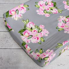 Changing Pad Cover - Vintage Floral