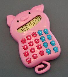 Piggy Calculator