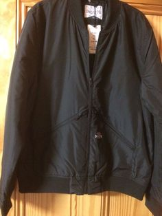 Men's Black bomber jacket - Industralize - Size XL - new with tags #Industralize #Bomber