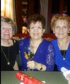 Susan, Candy & Erika at Klaus's birthday.