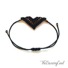 Βραχιόλια - Bracelets - Macrame - minimal and elegant - geometric