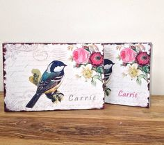 bird, floral design keepsake box tin by alphabet interiors | notonthehighstreet.com