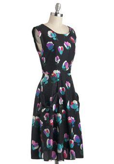 In the Headlines Dress in Floral, #ModCloth
