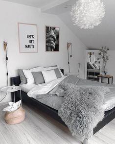 Room Ideas Bedroom, Small Room Bedroom, Home Decor Bedroom, Small Teen Room, Grey Room Decor, White Bedroom Decor, Teen Bedroom Designs, Gold Bedroom, Stylish Bedroom