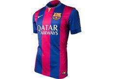 Nike Barcelona Home Match Jersey 2014-2015