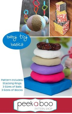 Baby Toy Basics pattern