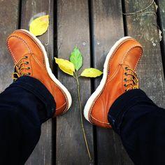 Vintge&Denim — Here we go #redwing #redwingshoes #875 #10875...