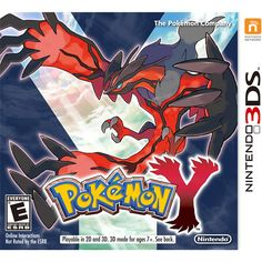 Pokemon Y (Nintendo 3DS): Games : Walmart.com