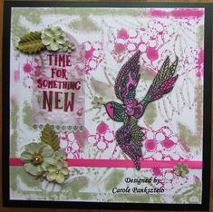 Designed using Claritystamp Lacy Swallow stamps