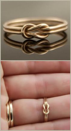 Sailor Infinity Knot Ring ♥ #nautical #love  omigosh i want this!
