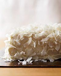 Coconut Cake with Saffron Cream Recipe on Food & Wine