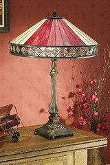 Tiffany Style Lamp - Fargo beige by Busy Bee Candles