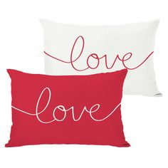 Love Pillows. Great gifts for wedding
