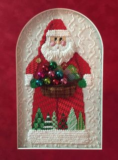 Image result for background needlepoint stitches for sky and snow xmas