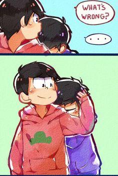 Matsuno Osomatsu and Ichimatsu ||| Osomatsu-san Fan Art by crispyfrites on Tumblr