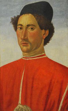 Portrait of a Man Cosimo Rosselli (Italian, Florentine, 1440–1507) ca. 1481–82. MET, NYC