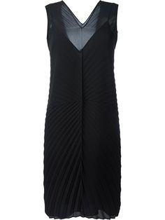 MAISON MARGIELA Pleated Shift Dress. #maisonmargiela #cloth #dress