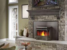 Napolean Eco Pellet Fireplace Insert