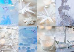 Juhlat Frozen -teemalla. Tee itse juhlien upeimmat koristeet! Soodataikinasta, paperista, suolalla ja jäädyttämällä.