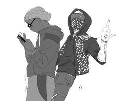 Watch Dogs 2....I LOVE PLAYING THAT GAME