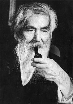 Japanese painter, KUMAGAI Morikazu (1880-1977) 熊谷守一