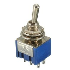 Toggle Switch, On-Off-On DP3T, Heavy Duty