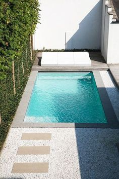Stock Tank Swimming Pool Ideas, Get Swimming pool designs featuring new swimming pool ideas like glass wall swimming pools, infinity swimming pools, indoor pools and Mid Century Modern Pools. Find and save ideas about Swimming pool designs. Small Swimming Pools, Small Backyard Pools, Backyard Pool Designs, Small Pools, Swimming Pool Designs, Outdoor Pool, Backyard Landscaping, Backyard Ideas, Indoor Swimming