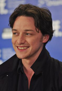 James McAvoy- never get sick of the smile