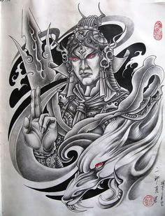 Trendy Samurai Warrior Tattoo Photo - 3: Real Photo, Pictures, Images and Sketches – Ideas Tattoo Collection