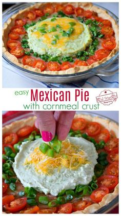 This recipe for Mexican Pie is an old recipe from my childhood. It's a classic recipe that is easy to make. A perfect Mexican Dinner Recipe for busy nights. Mexican Pie, Mexican Dinner Recipes, Sicilian Recipes, Family Meals, Kids Meals, Easy Meals, Taco Pie, Classic Recipe, Easy Cooking