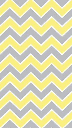 Chevron wallpaper for iPhone or Android. Baby Wallpaper, Pink Chevron Wallpaper, Grey Wallpaper Iphone, Cellphone Wallpaper, Pattern Wallpaper, Wallpaper Backgrounds, Chevron Backgrounds, Grey Yellow, Mellow Yellow
