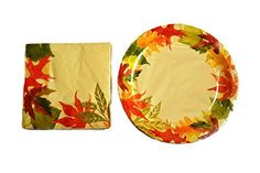 Autumn Fall Leaves Party Paper Plates and Napkins 36-Piece Set Autumn Leaves http://www.amazon.com/dp/B00OFA7YBO/ref=cm_sw_r_pi_dp_4Muhwb1H7X2A8