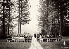 Forest Wedding. Seriously my dream wedding exactly.