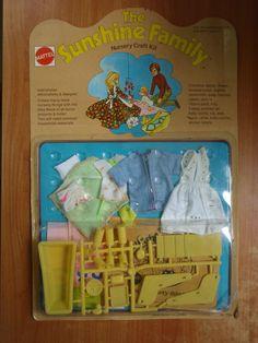 Vintage 1973 The Sunshine Family Nursery Craft Kit MOSC | eBay