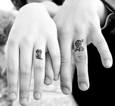 100% getting a monogram tattoo when I get married