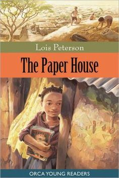 PAPER HOUSE by Lois Peterson is a heartwarming read about the rewards of friendship and creativity and community. It's set in the slums outside Nairobi, populated with characters who come alive. I Love Books, Used Books, Ya Books, Wordless Book, Slums, Life Is Hard, Chapter Books, Children's Literature, Kids Reading