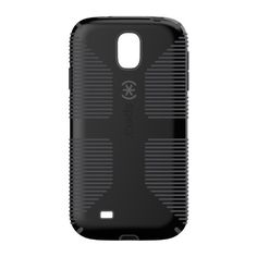 cool Speck CandyShell Grip | Speck Products CandyShell Grip Samsung Galaxy S4 Case - Retail Packaging - Black/Slate Grey